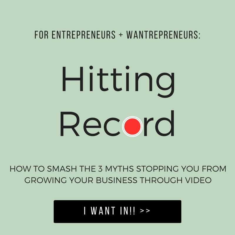 Smash the 3 biggest myths about recording video and GROW YOUR BUSINESS!