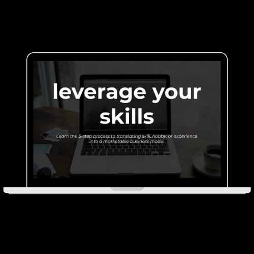 Leverage Your Skills free webinar with Christiana Datubo-Brown